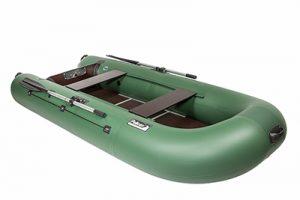 Лодка ПВХ Пеликан 299ТК надувная под мотор