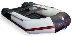 Лодка ПВХ Хантер 345 ЛКА надувная под мотор